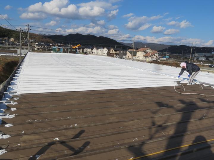 倉庫・工場屋根塗装